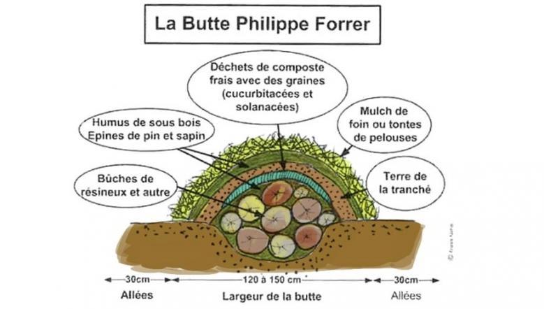 butteforrer Lien vers: https://ruralisme.wordpress.com/permaculture/culture-sur-butte/